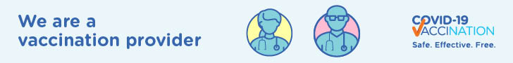 We are a vaccination provider - General Practice banner